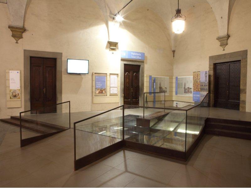 Palazzo Vecchio, il nuovo accesso al museo grazie ai pavimenti Nesite