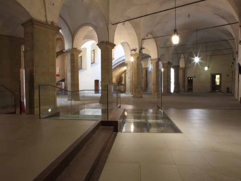 palazzovecchio2 800 Palazzo Vecchio, il nuovo accesso al museo grazie ai pavimenti Nesite