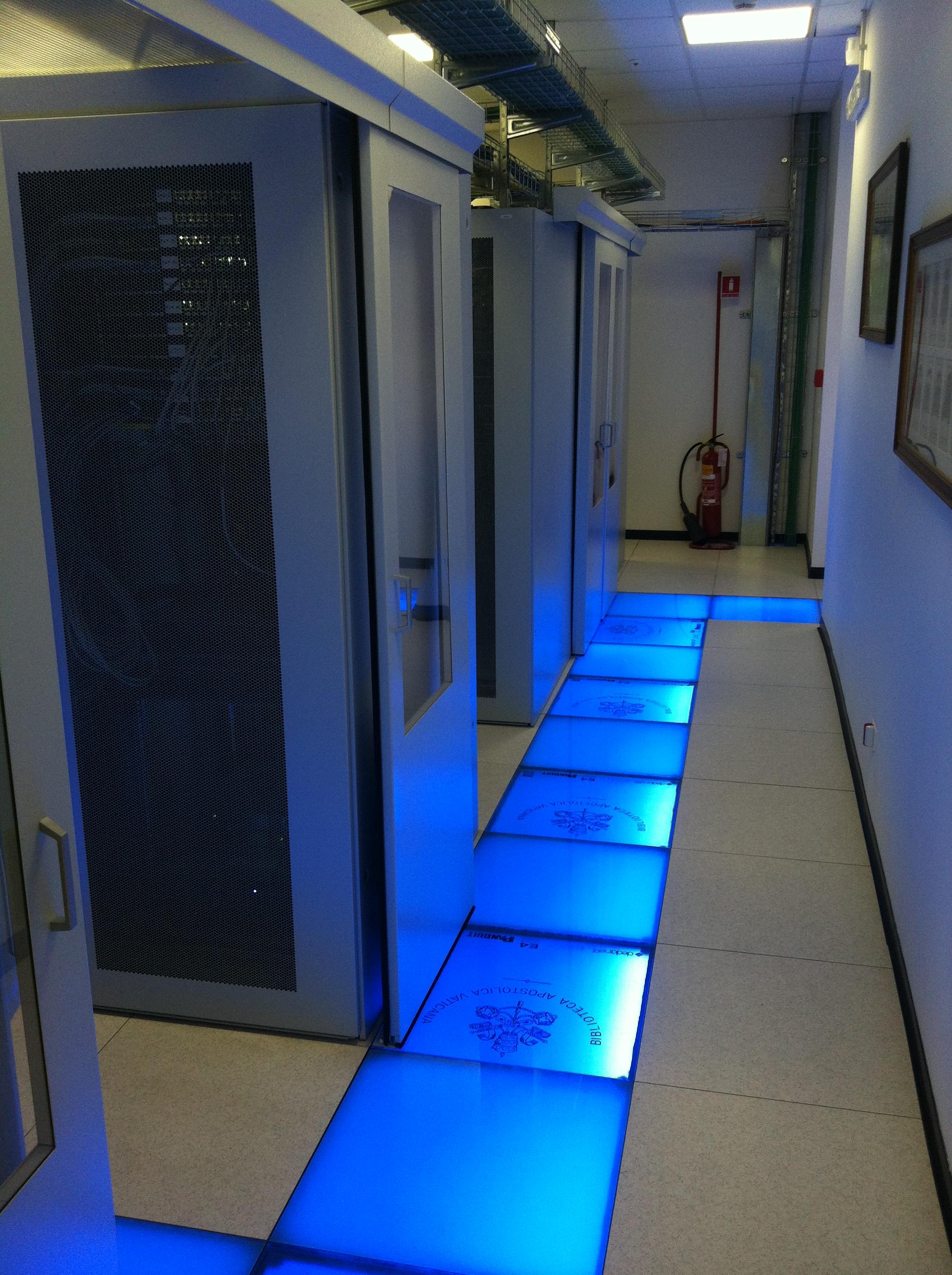 datacenter 7 Nesite entra nel Data Center della Biblioteca Vaticana