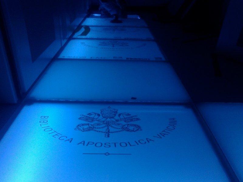 pavimento nesite bav Nesite entra nel Data Center della Biblioteca Vaticana