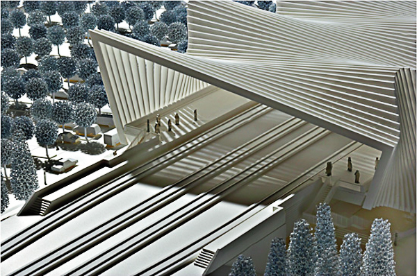 Unonda per la Mediopadana firmata da Santiago Calatrava