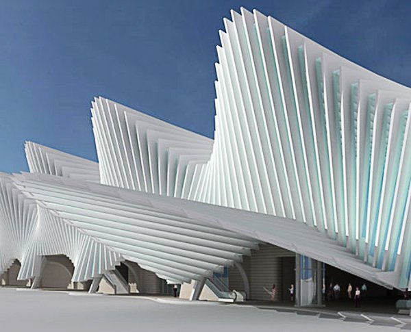 Stazione Mediopadana Calatrava