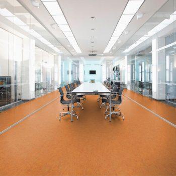 pavimento sopraelevato linoleum