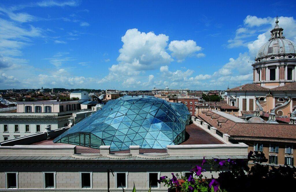 slide 307690 2679291 free 1024x666 La Lanterna di Fuksas: una cupola in vetro ridefinisce il centro di Roma
