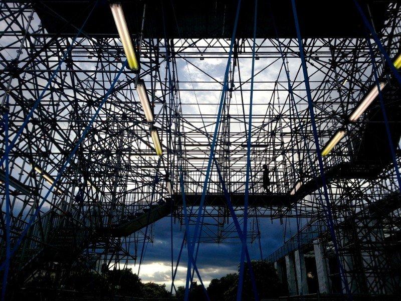 4 La Pinakothek der Moderne di Monaco riapre con Schaustelle