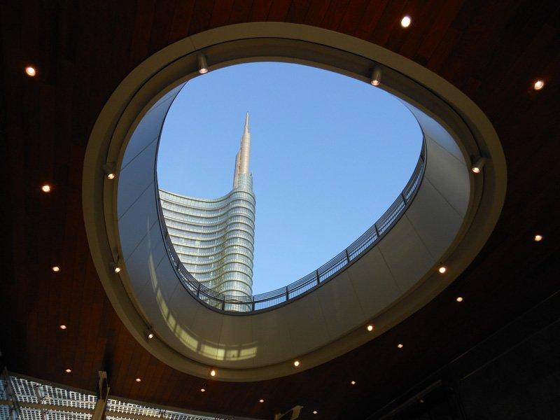 Porta Nuova 180113 039 UniCredit Tower a Milano è l'edificio più alto d'Italia
