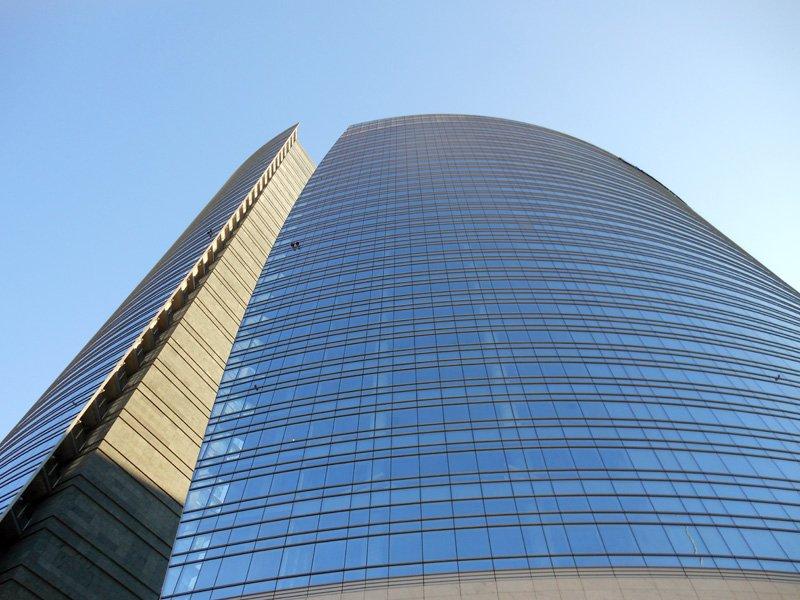 Porta Nuova Spire UniCredit Tower a Milano è l'edificio più alto d'Italia