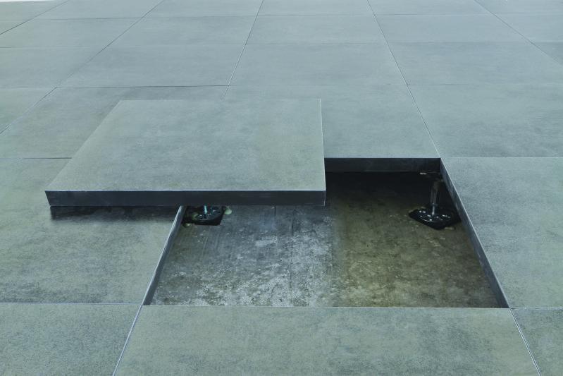 pavimento sopraelevato