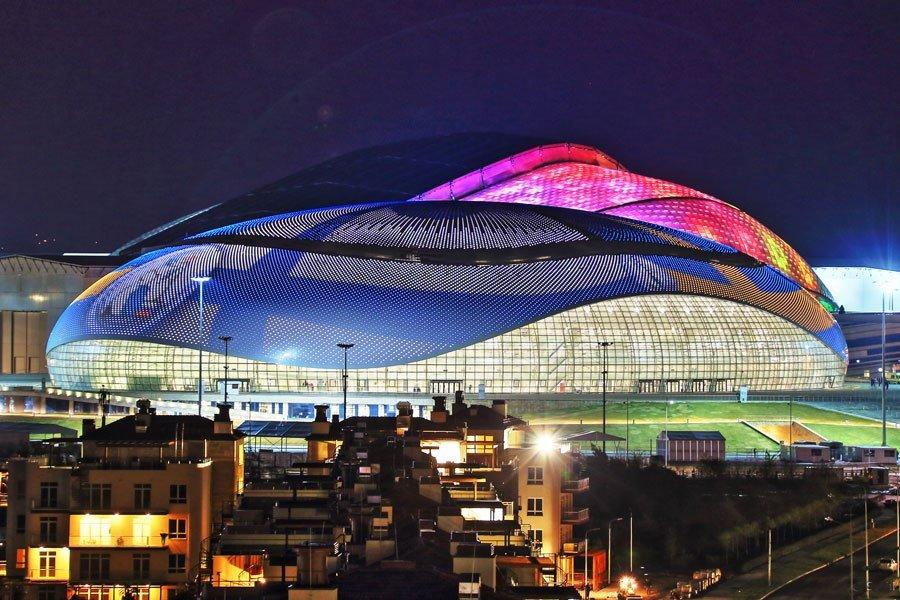 bolshoy ice dome Olimpiadi di Sochi: l'architettura che lascia il segno
