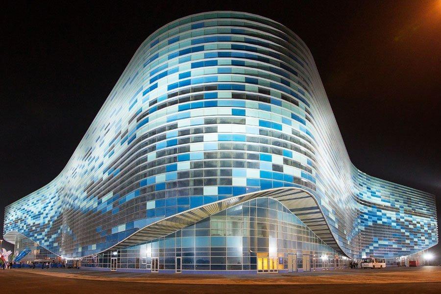iceberg skating palace Olimpiadi di Sochi: l'architettura che lascia il segno