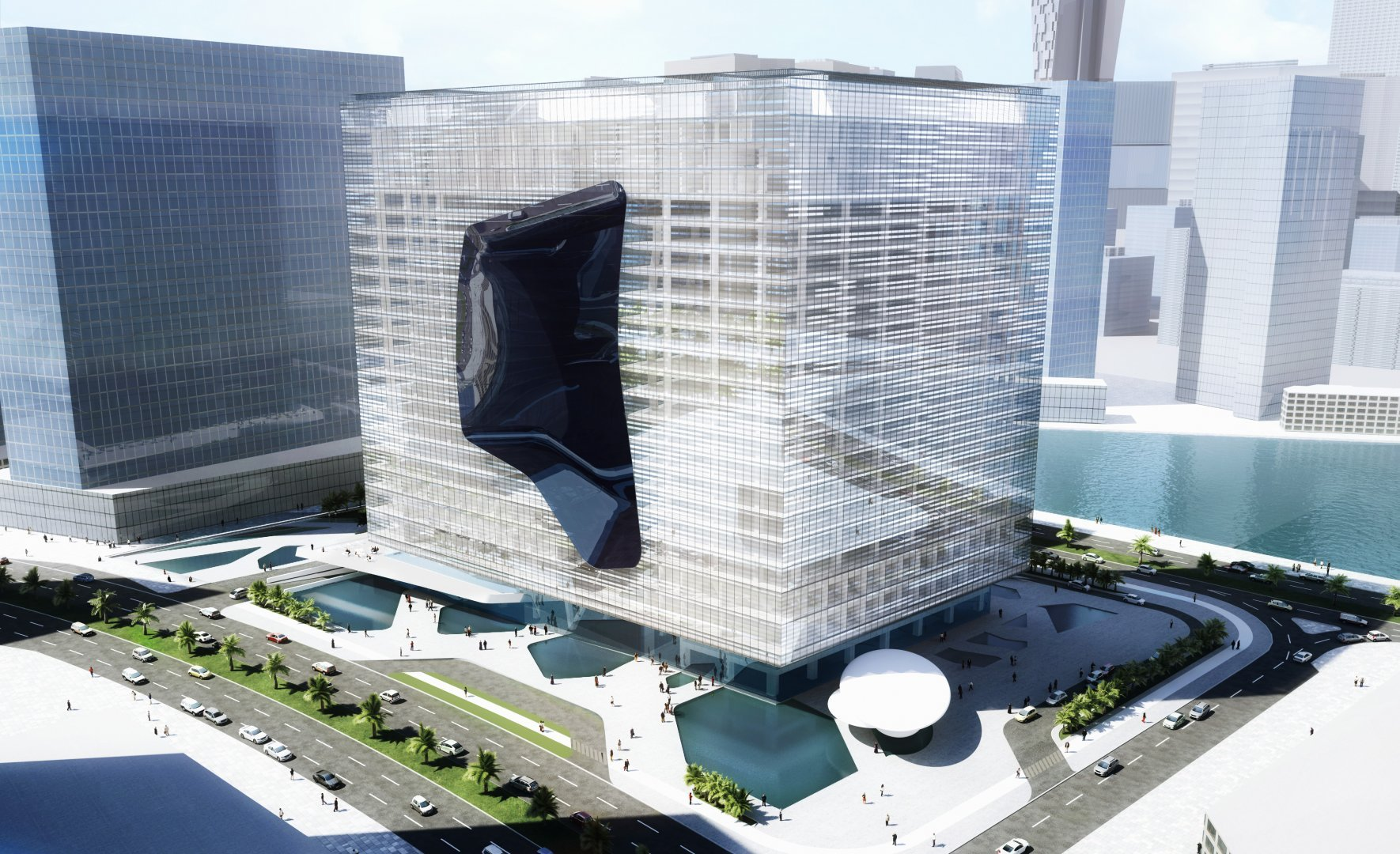 Opus Tower rendering