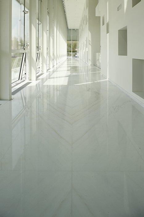 raised floor marble
