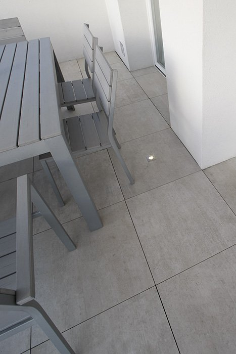 Pavimento sopraelevato terrazza