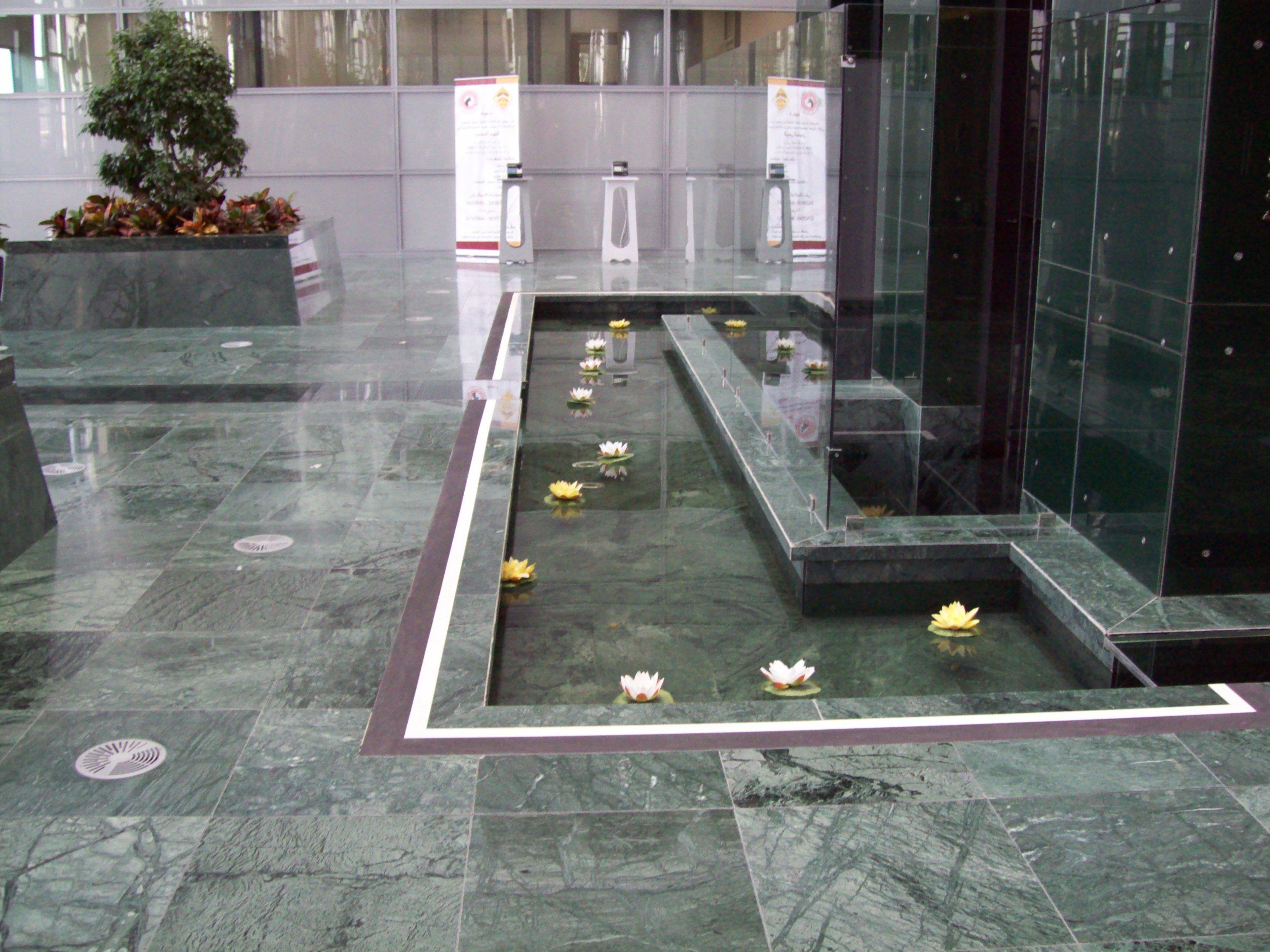 SAB MARMO 009 State Audit Bureau: pavimenti sopraelevati Nesite anche in Kuwait