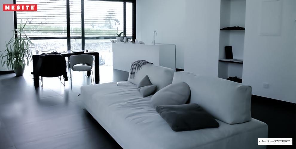 interno appartamento deltazero DeltaRosso by DeltaZero