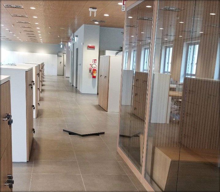 PAVIMENTI NESITE NEL BANCO SANTANDER Pavimenti Nesite nel nuovo quartier generale Santander a Torino