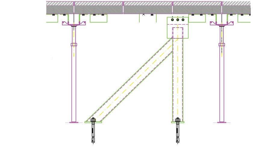 bracing system a k Progettazione sismica per pavimenti sopraelevati