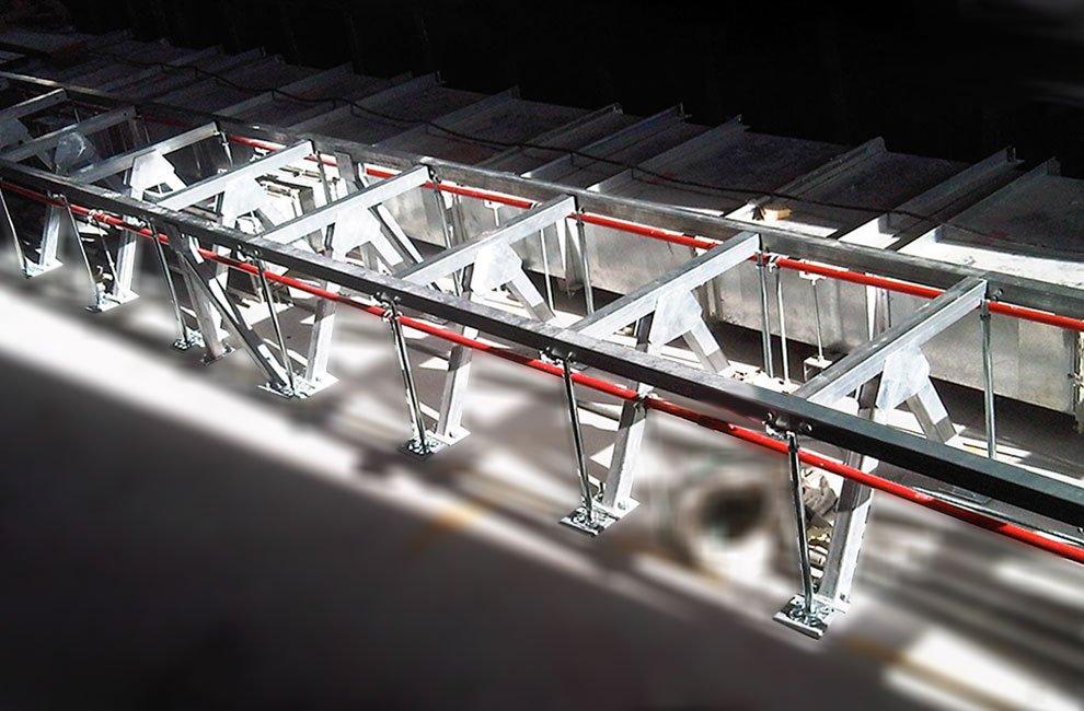 sistema sistmico pavimenti flottanti Progettazione sismica per pavimenti sopraelevati