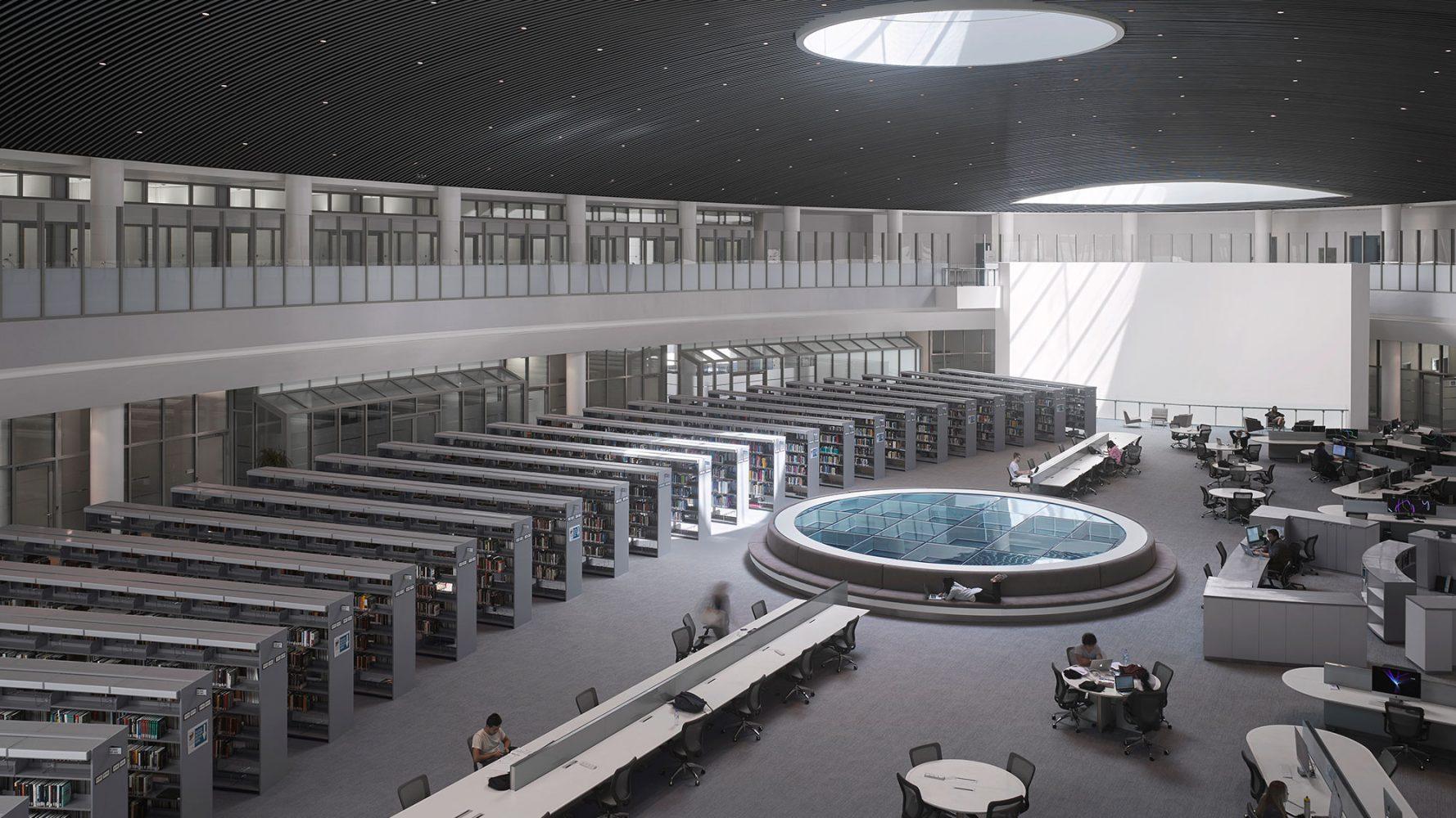 NYU Abu Dhabi - pavimenti Nesite