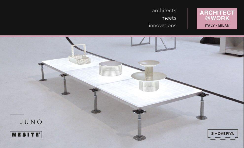 Invito Architect Work Milano 2018 - Nesite