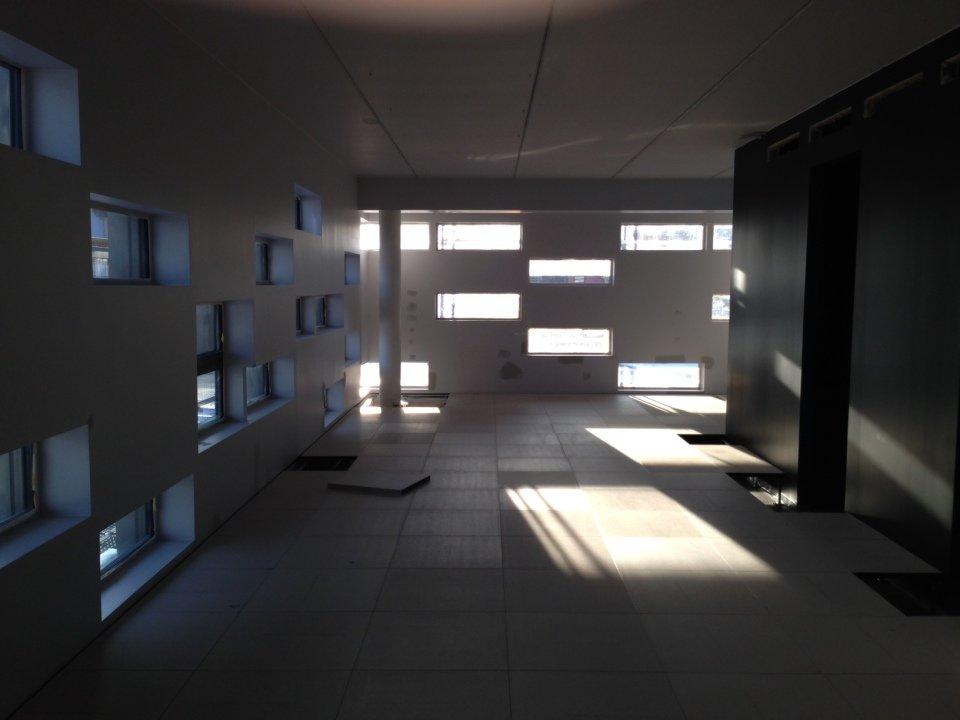 Pavimento sopraelevato Nesite - Wilberg Atrium