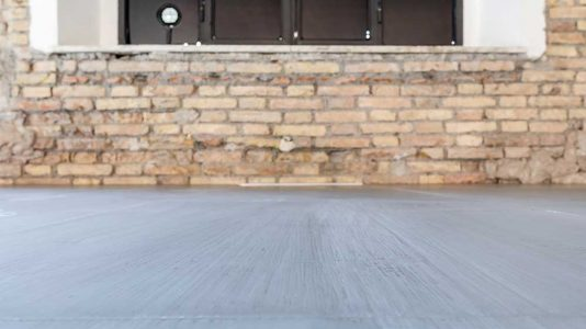 Pavimento sopraelevato in resina museo MAXXI