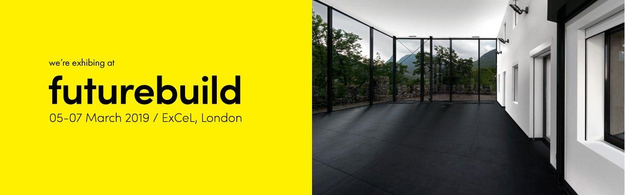 Nesite espositore a Futurebuild 2019 a Londra