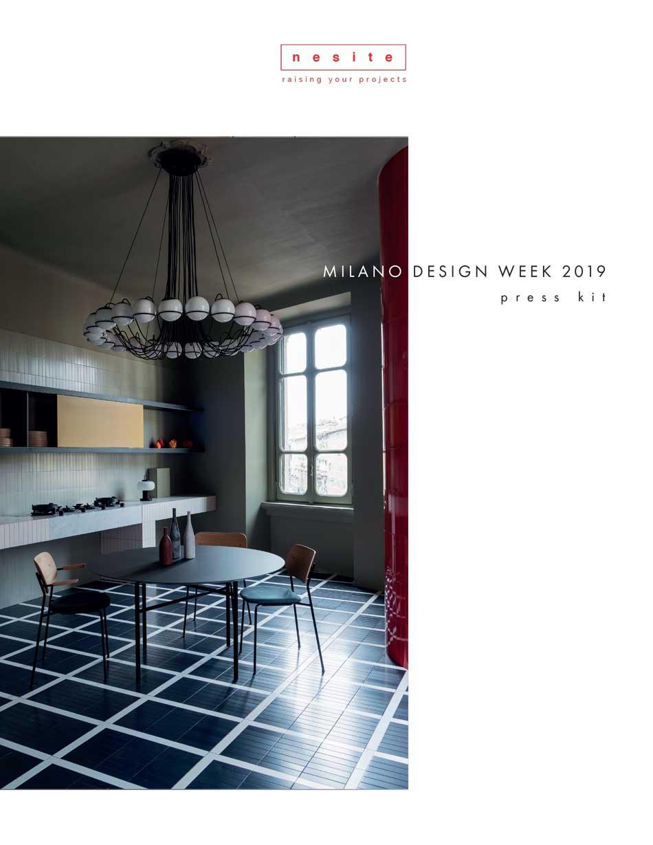 Nesite a Milano Design Week 2019 - press kit