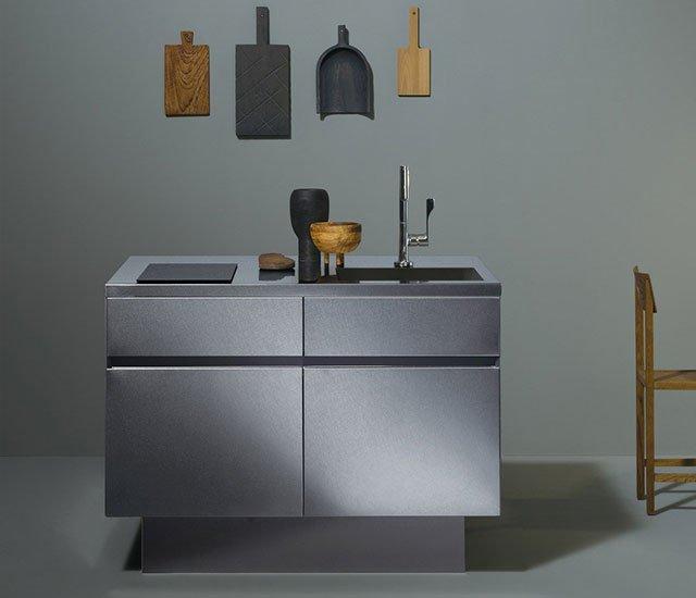 Grad45 - cucina compatta design giapponese