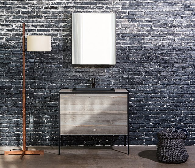 Pattina Vanity wooden vanity unit