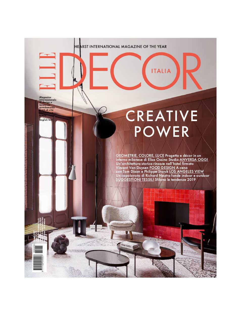Perfect Darkness su Elle Decor - maggio 2019