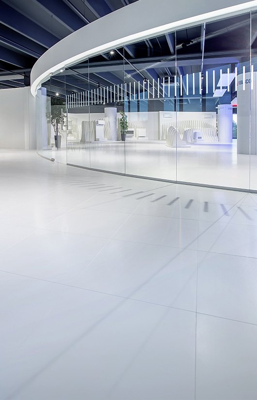 abiana - pavimento sopraelevato in resina 4.0