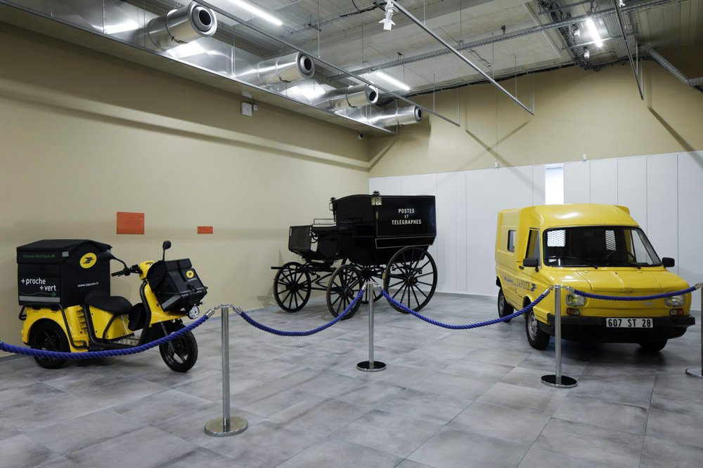 Museé de La Poste Parigi - pavimenti sopraelevati Nesite