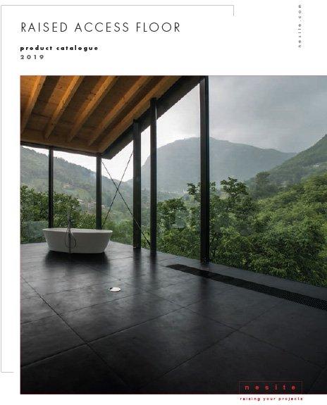 Raised floor catalogue Nesite
