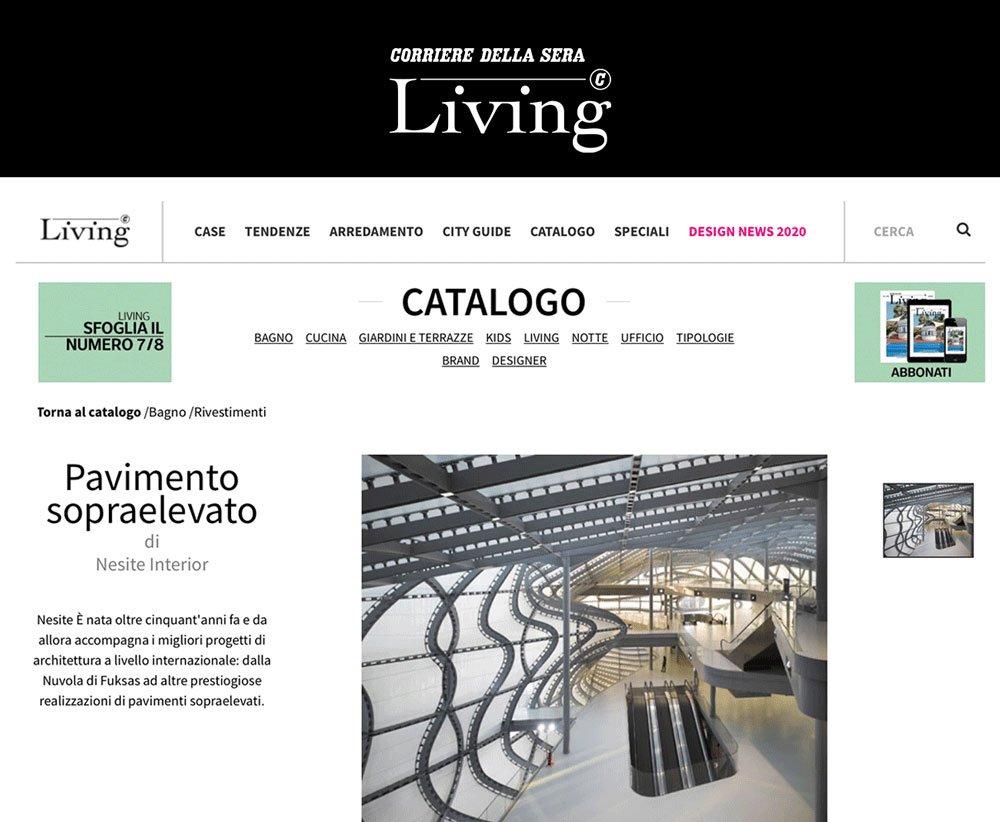 Nesite - Living Corriere