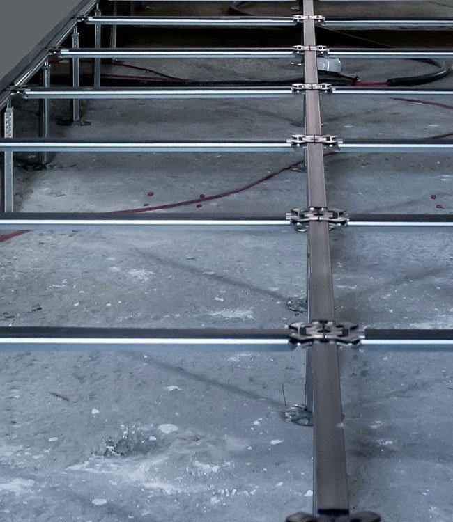 Struttura pavimento flottante