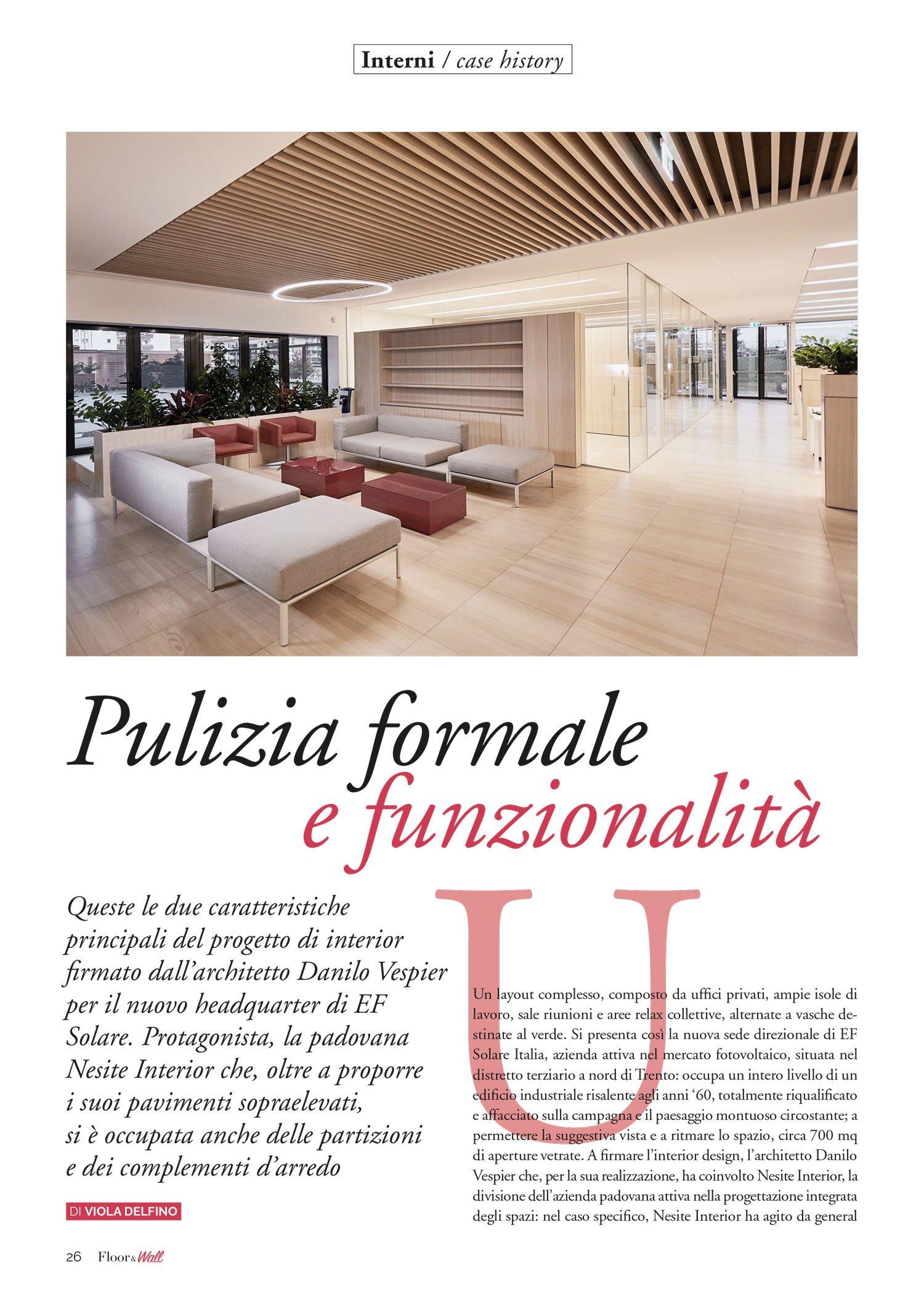 Ef Solare - Floor&Wall marzo 2021
