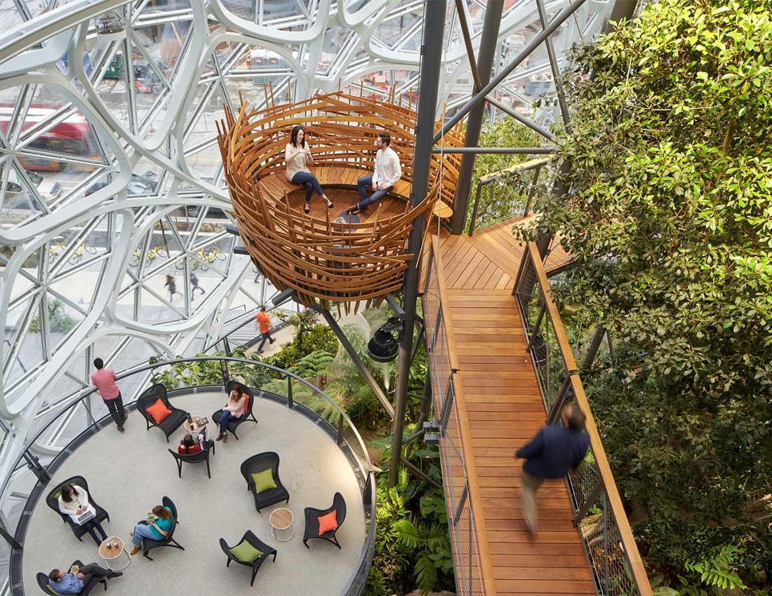 Amazon Spheres Seattle Hq